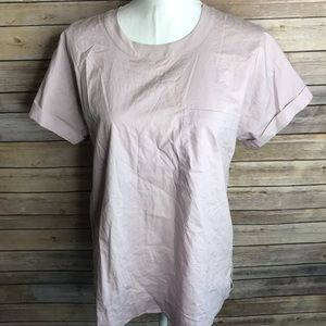Madewell Dusty Rose Blouse